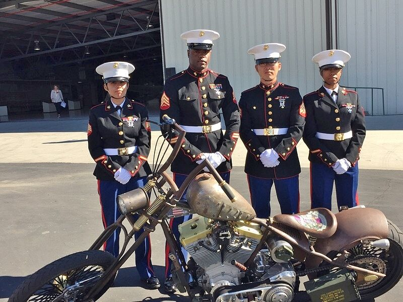 Donation Motorcycle to Warrior Foundation-Freedom Station